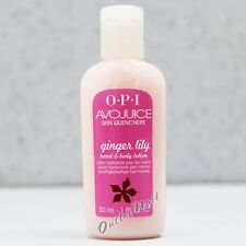 OPI Avojuice GINGER LILY Skin Quenchers Hand & Body Mini Sample Lotion 30 mL 1oz