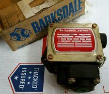"☆New Barksdale Valves Hi - ""P"" Pressure Switch P1H-J600Ss-T 2000 psi Ships Free☆"