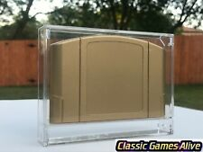 Best Nintendo N64 Video Game Cartridge Display Case (PC highest quality plastic)