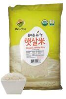 McCabe USDA ORGANIC White Rice, 12-Pound