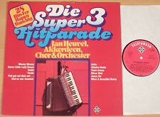 JAN HEUVEL - Die Super-Hitparade 3  (TELEFUNKEN 1977 / Akkordeon / LP NEUWERTIG)