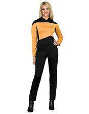 """Star Trek Gold Women Costume M (USA 10-14) BUST 38-40"""" WAIST 31-34"""" LEG 30"""""""
