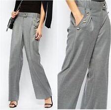 River Island Wide Leg Regular Size Trousers for Women