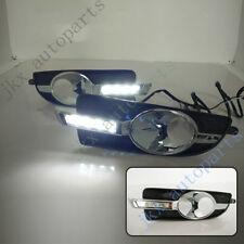 1Set White LED DRL Daytime Running Lamp k Turn Signal For Buick LaCrosse 2010-13