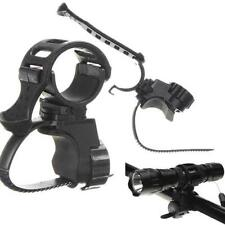 360° Bike Bicycle Cycle Flashlight Torch Mount LED Head Light Holder Clip Clamp