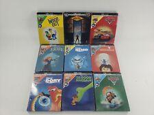 9 Disney Pixar Steel Cases Movies SEALED 4k Ultra HD + Blu-Ray + Digital Code