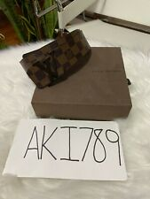 Louis Vuitton Damier Belt 110/44 Brown (read description)