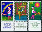 ISRAELE 1975: FESTA ALBERI SERIE COMPLETA CON APPENDICE NUOVO