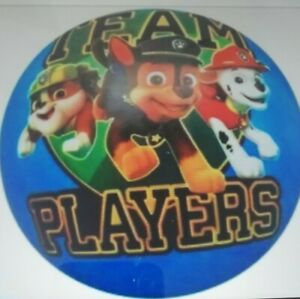"Paw Patrol Wasserball ""Teamplayers"" Strandball Kinder Ball ca. 28 cm NEU OVP"