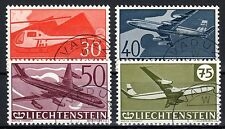 Liechtenstein - 1960 30 years airmail stamps - Mi. 391-94 VFU