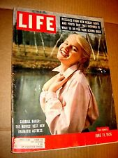 "Life Magazine June 11, 1956 ""Carroll Baker: Movies' Best New Dramatic Actress"" !"