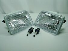 NEW Ford RANGER Pair HEADLIGHTS HEADLAMPS & BULBS 1993 1994 1995 1996 1997