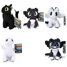 "How Train Your Dragon Plush Baby Nightlight Lightfury Toothless 8"" Hidden World"