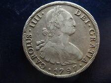 CARLOS IV POTOSI 8 REALES 1797 PP MBC-