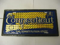 Booster Front License Plate Connecticut CT Constitution State