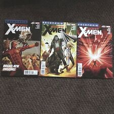 Uncanny X-Men #1 - 3  2012 Marvel Regenesis