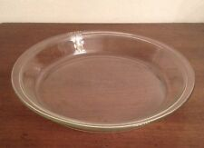 """Nice! Vintage PYREX 9"""" Round Clear Glass Pie Plate #209"""