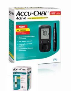 Accu-Chek Active Blood Glucose Monitoring System with 50 Active Test Strips