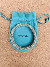 TIFFANY AND CO.STERLING SILVER SOMERSET MESH BRACELET 60 GRAMS