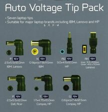 Maplin Auto Voltage Tip Pack for Acer, Compaq, HP, IBM, Lenovo & Dell Laptops