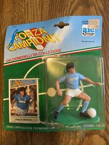 Diego Maradona Sportstars Futbol Action Figure SLU Napoli Argentina Soccer RIP