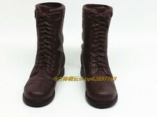 1:6 WWII US Army M42 Paratroopers Shoes Special Department War Boots Male Shoes