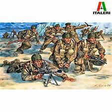 ITALERI 6064 WWII BRITISH COMMANDOS 1/72 SCALE PLASTIC MODEL KIT