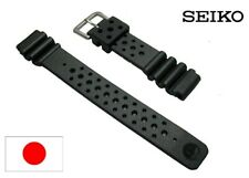 SEIKO Genuine DAL2BP Watch Band Strap 19mm Rubber Urethane Diver Replacement New