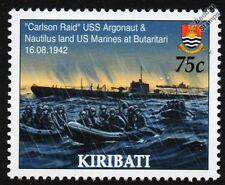 USS Argonauta & Nautilus (la segunda guerra mundial Makin isla Carlson RAID) submarino buque de guerra Sello