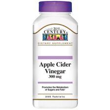 Apple Cider Vinegar, 300 mg, 250 Tablets - 21st Century