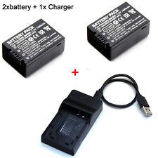 DMW-BMB9E Battery / Charger For Panasonic Lumix DMC-FZ40 K DMC-FZ45 K DMC-FZ47 K