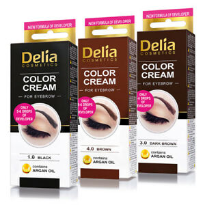 Delia Henna EyeBrow TInt All Colors