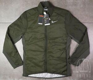 $110 Nike Running AeroLayer Jacket – BV4874-355 Down green Medium M