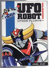 dvd GOLDRAKE UFO ROBOT numero 01 ACTARUS... CHI SEI (Versione blu)