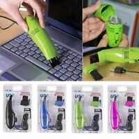 Mini USB Vacuum Keyboard Cleaner Dust Cleaning Kit Laptop Desktop PC Computer