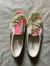 Topshop Tropical Slip On Shoes Size 41