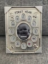 2 Newborn Baby Frames. One With First Year Photos. One With Ultrasound Picture