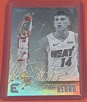 2019-20 Panini Chronicles Essentials Tyler Herro Rookie HOLO FOIL Heat #212 RC🔥