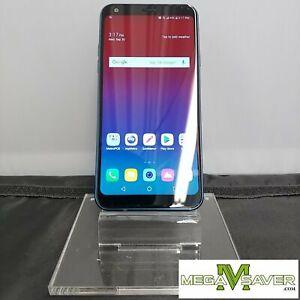 53-Good! LG Q7+ LM-Q610MA 64GB Blue T-Mobile/Boost/Metro/Mint