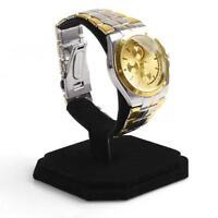 Velvet C Type Bracelet Display Stand Jewelry Chains Watch Show Case Organizer