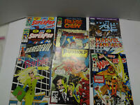Mixed Lot Of 10 Vintage Marvel Comic Books From The 1990s