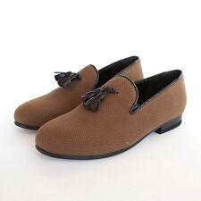 CB CECILIA BRINGHELI $400 canvas shoes tassel flats mocassin loafers 36/6 NEW