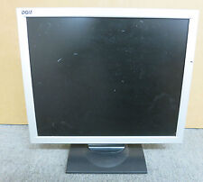 "DGM L-1721 17"" TFT LCD Monitor Silver & Black PC Screen Active Matrix"