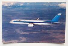 EL AL Boeing 757 Postcard (Airline Issue)