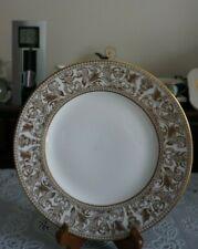 VINTAGE Wedgwood Gold Florentine Salad Plate W4219, England