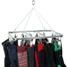 Hangerworld™ 26 Peg Aluminium Metal Sock Underwear Clothes Outdoor Dryer Laundry