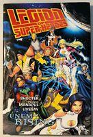LEGION OF SUPER-HEROES: ENEMY RISING Hardcover / DC 8.0 VF+ English 2008