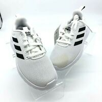 Adidas Boys Lite Racer CLN Running Shoes White EG5817 Low Top Lace Up 11.5 K
