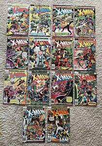 Uncanny X-Men 95-109 Bronze Age Lot (14 Books) - Missing Issue 101