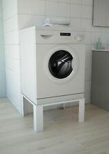 Waschmaschinenerhöhung Waschmaschinen Untergestell Sockel Erhöhung weiß respekta